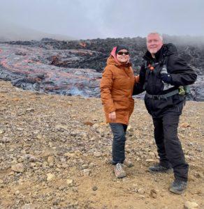 Lava Flows - Geldingadalir Iceland 4-2021